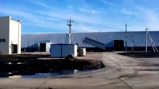 Процесс строительства элеватора напольного хранения - www.angar-prom.com      +380955953195(, 2015-10-05T07:50:34.000Z)