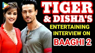 VIRAL ALERT: Tiger Shroff and Disha Patani's SUPERHIT Full interview on Baaghi 2