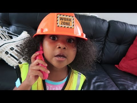 Phone Call With 3-Year-Old Construction Manager