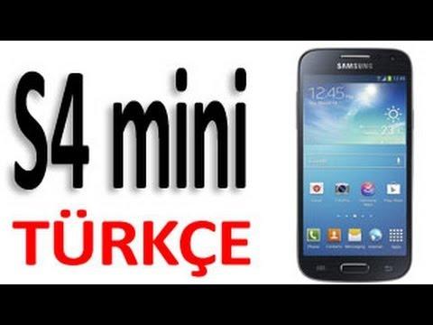 Samsung Galaxy S4 Mini TÜRKÇE