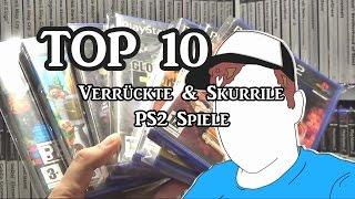 Top 10 verrückte & skurrile PS2 Spiele | Raketenjansel