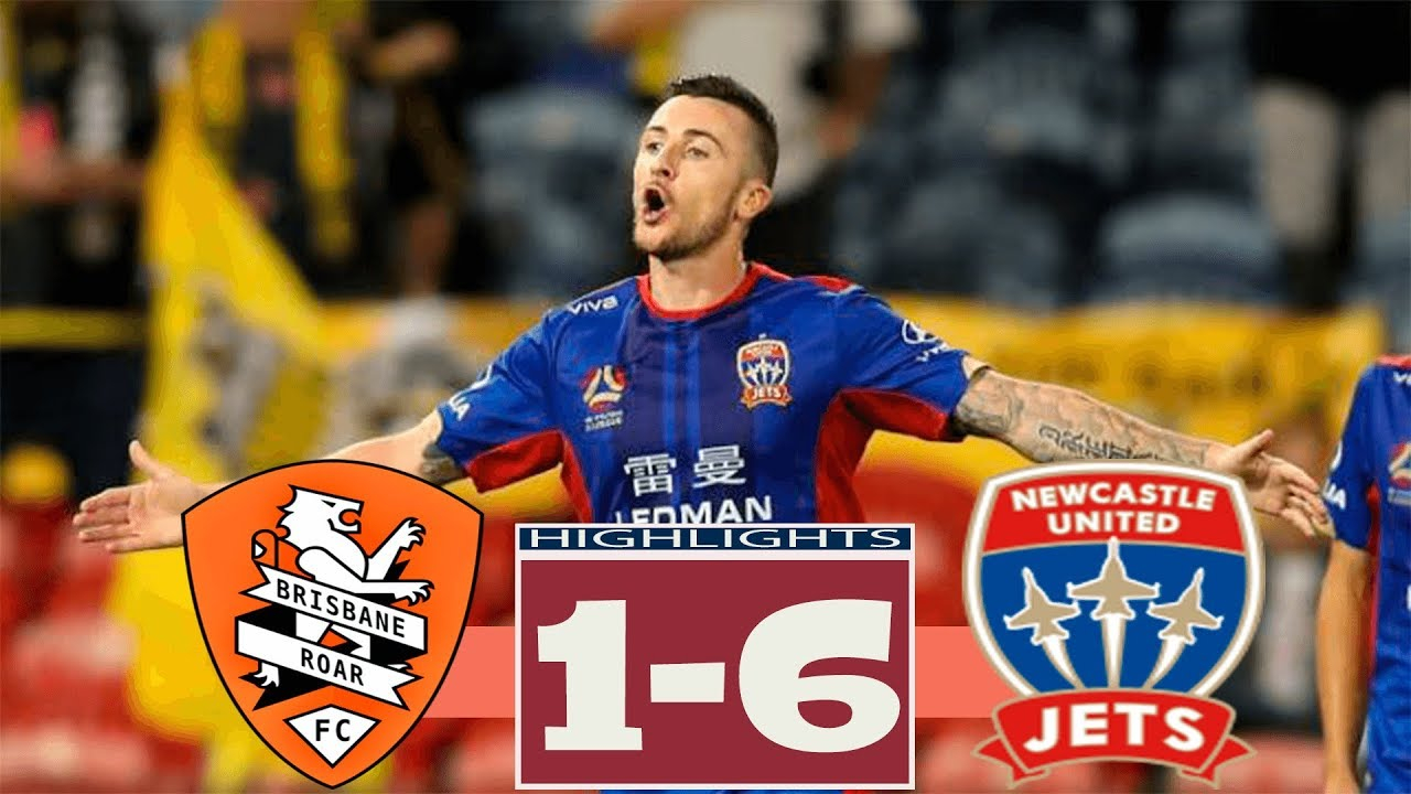 879a7231e7d Brisbane Roar vs Newcastle Jets 1-6 All Goals   Highlights 20.04 ...