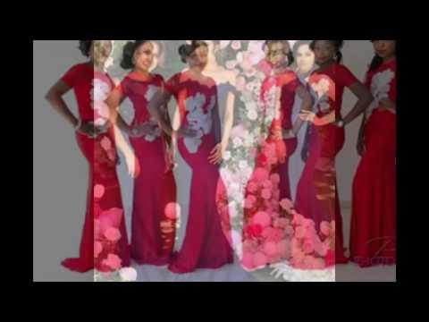 Classy Ankara Lace Styles For Your Bridal Train