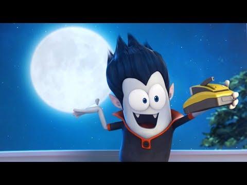 Funny Animated Cartoon | Spookiz | Selfie With The Moon |  스푸키즈 | Cartoons For Kids | Kids Movies
