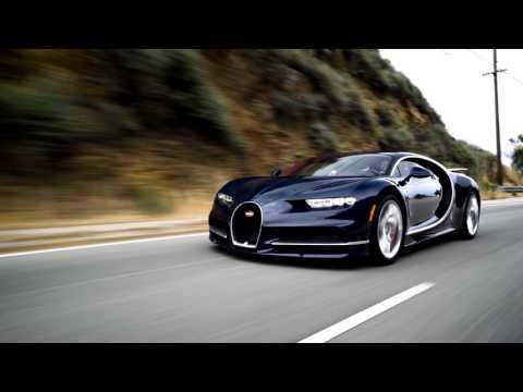 The Bugatti Chiron Blasts through Malibu