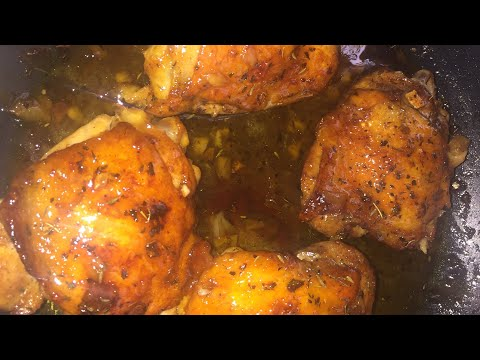 Honey & Brown Sugar Chicken Thighs