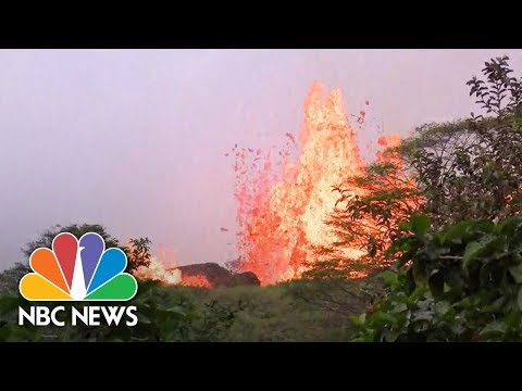 WATCH NOW: Lava spews from Kilauea fissure in Hawaii