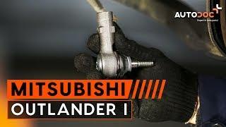 Kā nomainīt stūres šķērsstieņa šarnīrs Mitsubishi Outlander 1 PAMĀCĪBA | AUTODOC