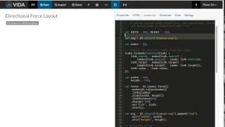 إنشاء قابلة لإعادة الاستخدام d3.js قالب من bl.ocks.org