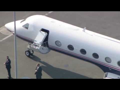FBI Director James Comey Departing from Los Angeles Airport  California