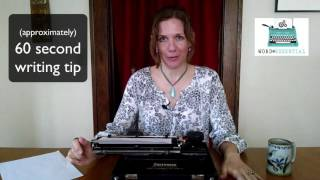 Word Essential 60 Second Writing Tip: Heart Your Character