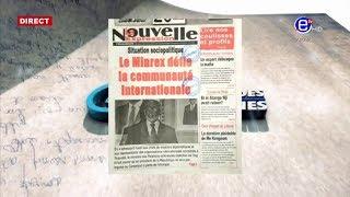 LA REVUE DES GRANDES UNES DU MERCREDI 29 MAI 2019 - EQUINOXE TV