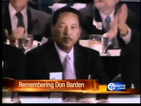 Don Barden dies