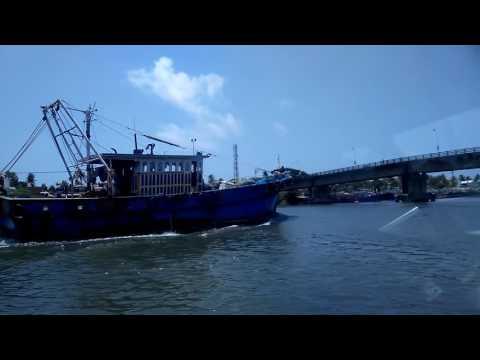 Fishing boat at Munambam Harbour