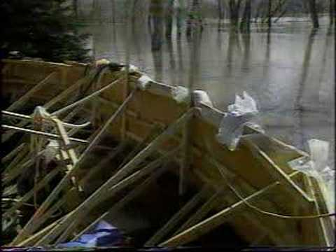 Red River Flood Of 1997: April 18 Flooding In Fargo/Moorhead