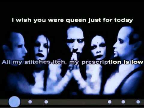 Marilyn Manson - Great Big White World KARAOKE