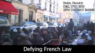 Paris...Lost?(Every Friday thousands of Muslims shut down Paris streets to pray. Is Shariah Islam destroying French culture?, 2010-12-28T02:10:42.000Z)