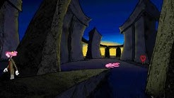 Vaaleanpunainen Pantteri Matkalippu Vaaraan. Pantteri Englannissa