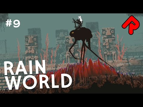 Riding the Walker Across Farm Arrays | Let's play Rain World gameplay ep 9 (v1.01)