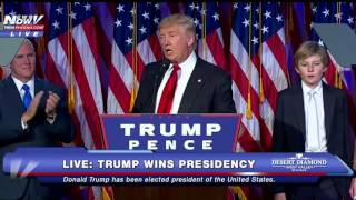 FNN HISTORY: Donald Trump Wins Presidency - FULL SPEECH - FNN