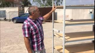 видео Складские полочные стеллажи: ООО Техносклад