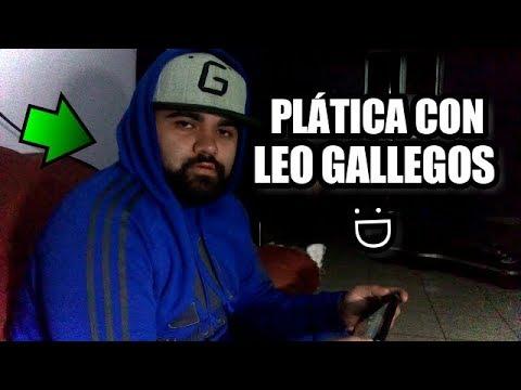 PLÁTICA CON LEO GALLEGOS - El Magallanes