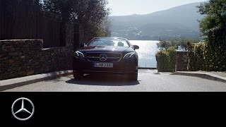 The way to freedom  presented by E Class Cabriolet – Mercedes Benz original