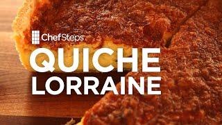 Quiche Lorraine Recipe - Chefsteps