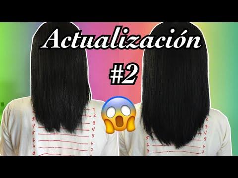 ACTUALIZACIÓN CABELLO ALISADO #2 | RELAXED HAIR UPDATE #2 | Mary Pulido