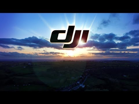 Drone High Altitude Flying Sunset DJI 2.7K Test - Manchester in distance