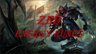 Zapętlaj Zed Energy Runes [Guide] | LOLGuides