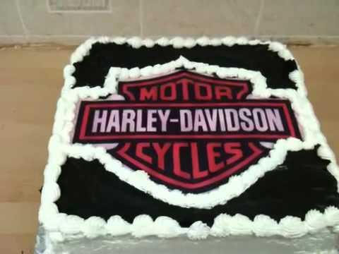 Harley Davidson Cake YouTube