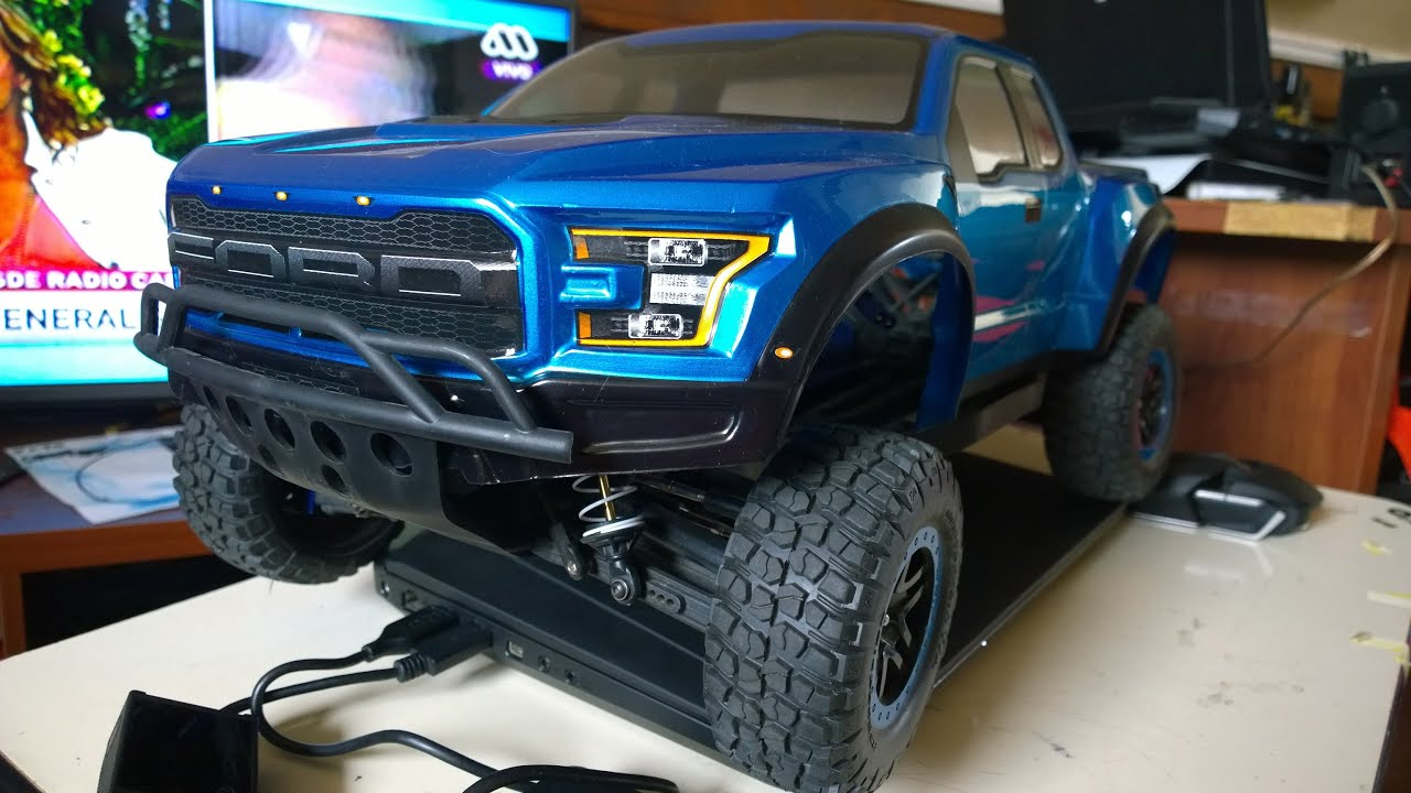 PROLINE Body Ford Raptor 2017 On Traxxas Slash