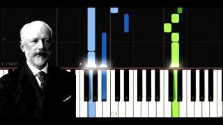 Tchaikovsky - Waltz of the Flowers from Nutcracker - Easy Piano Music