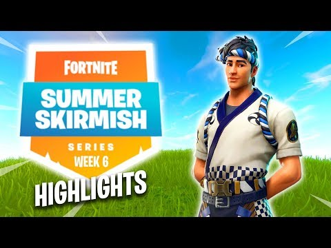 Fortnite Summer Skirmish Series Highlights Twitch Rivals (Week 6)
