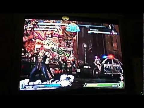 Marvel vs. capcom Dante, ryu and akuma  gameplay