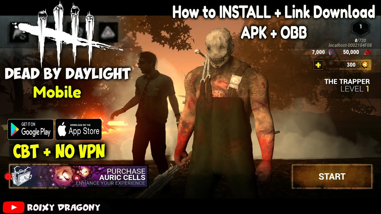 NO VPN !!! Cara Install + Download Link !! Dead by Daylight Mobile (ENG)  Android CBT Gameplay