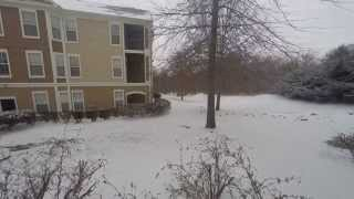 Franklin, TN Snowfall Time-Lapse