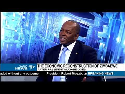 Economic reconstruction of Zim after Mugabe: Prof. Parsons