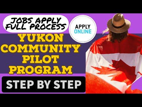 #YCPP2020 | Yukon Community Pilot Program 2020 Jobs Full Apply Process | Canada Jobs WorkPermit PR