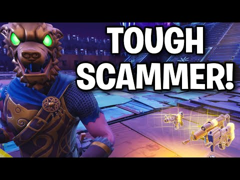 Meeting the TOUGHEST Scammer EVER!! 😆 (Scammer Get Scammed) Fortnite Save The World