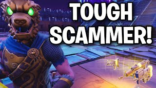 Rencontrer le SCAMmer TOUGHEST JAMAIS!! 😆 (Scammer Get Scammed) Fortnite Save The World