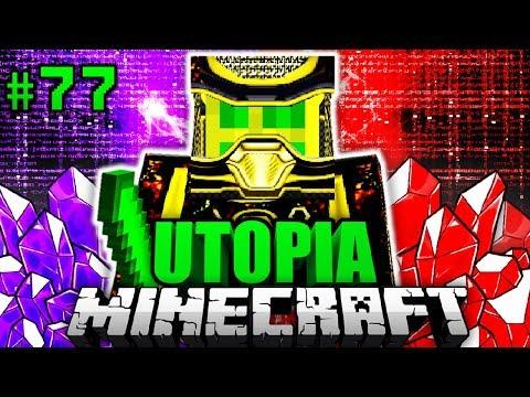 CHAOSFLO44 KLON aus der ZUKUNFT?! - Minecraft Utopia #077 [Deutsch/HD]