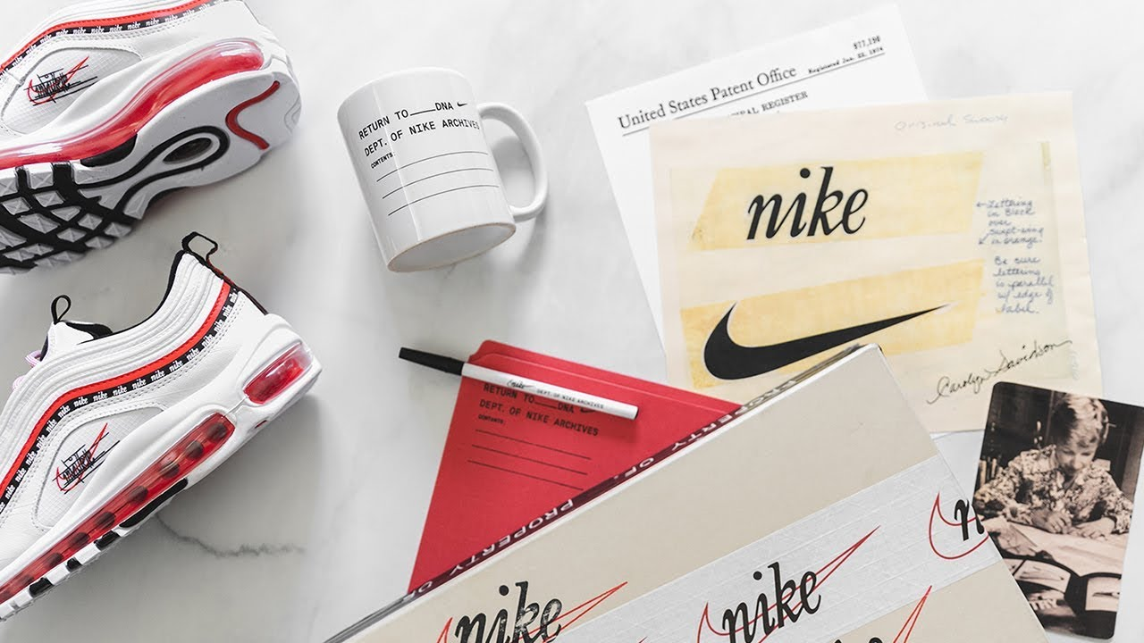 online store 408da c8708 UNBOXING NIKE AIR MAX 97 FROM SCRIPT SWOOSH PACK