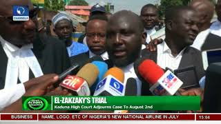 Kaduna High Court Adjourns El-Zakzaky's Trial To August 2 |News Across Nigeria|