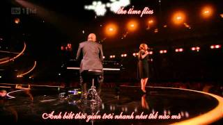 {Vietsub + Kara} Someone Like You - Adele (Brit Awards 2011) HD live