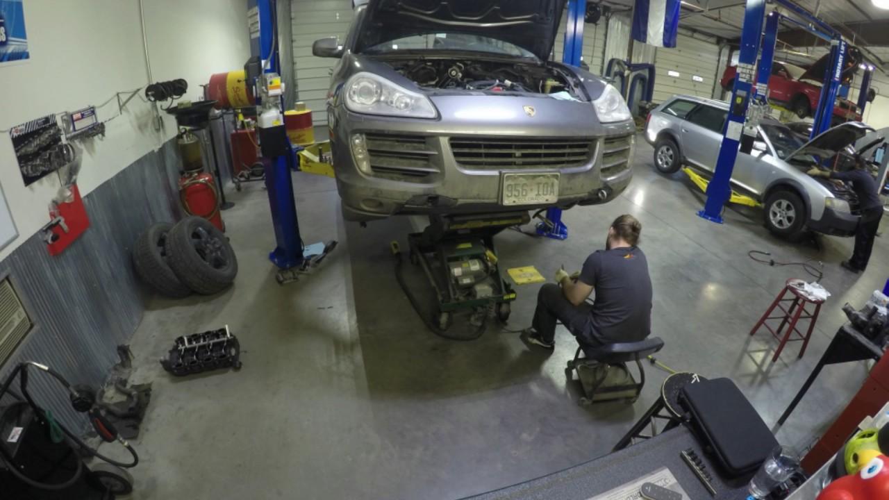 Porsche Cayenne 4 8 Engine Replacement