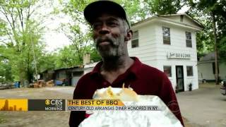 America's best BBQ: Century-old diner honored