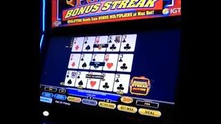 Ultimate X Video Poker [Bonus Streak]