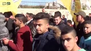 مصر العربية | الفلسطينيون يشيعون جثمان فلسطيني قتله الجيش الإسرائيلي شمالي الضفة